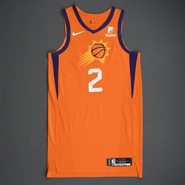 Image of Elie Okobo - Phoenix Suns - Game-Worn Statement Edition Jersey - Dressed, Did Not Play - 2019-20 Season