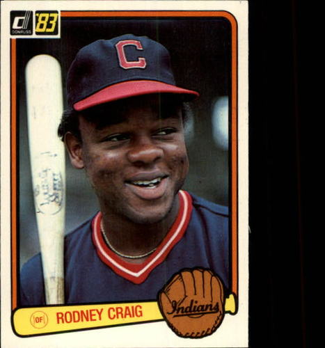 Photo of 1983 Donruss #515 Rodney Craig