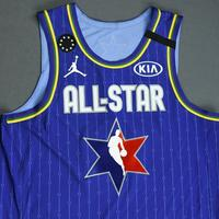 JamesHarden - 2020 NBA All-Star - Game-Worn Jersey Charity Auction - Team LeBron - 1st and 2nd Quarter
