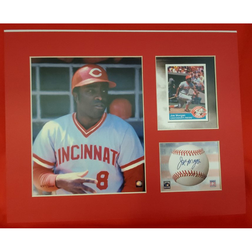 Photo of Matted Joe Morgan - 11x14