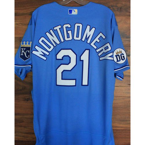 Alex's Lemonade Stand Foundation: Game-Used Mike Montgomery Jersey (Size 48 - 9/26/20 DET @ KC)