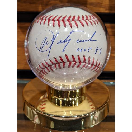 Photo of Carl Yastrzemski 'HOF 89' Autographed Baseball