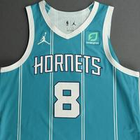Bismack Biyombo - Charlotte Hornets - Game-Worn Icon Edition Jersey