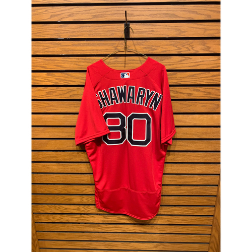 Photo of Mike Shawaryn Team Issued 2021 Nike Spring Training Jersey