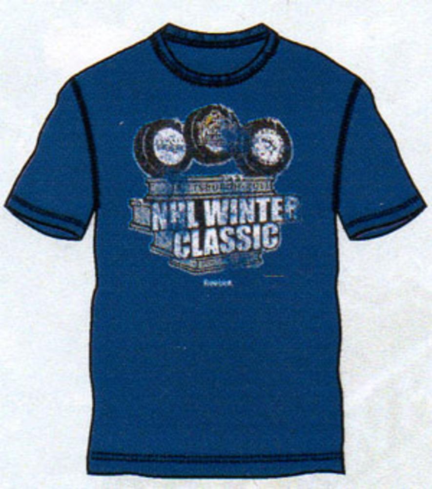 c95bc469841 2011 NHL Winter Classic Hat Trick T-Shirt (Pittsburgh Penguins vs. Washington  Capitals)