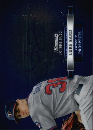 Photo of 2012 Bowman Sterling Prospect Autographs #LBA Luke Bard
