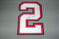 BILLS - ALEX CARRINGTON SIGNED JERSEY NUMBER