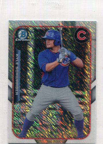 Photo of 2015 Bowman Chrome Farm's Finest Minis #FFMKS Kyle Schwarber