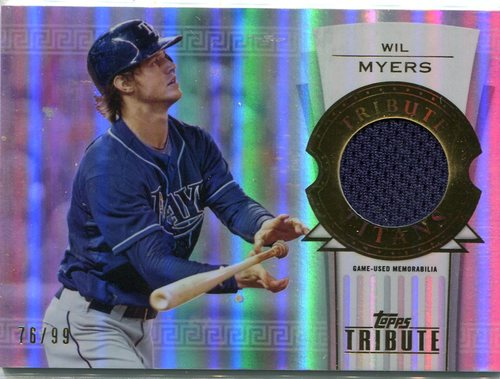 Photo of 2014 Topps Tribute Tribute Titans Relics #TTRWM Wil Myers 76/99