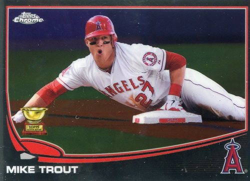 Photo of 2017 Topps Chrome Update All Rookie Cup #TARC7 Mike Trout