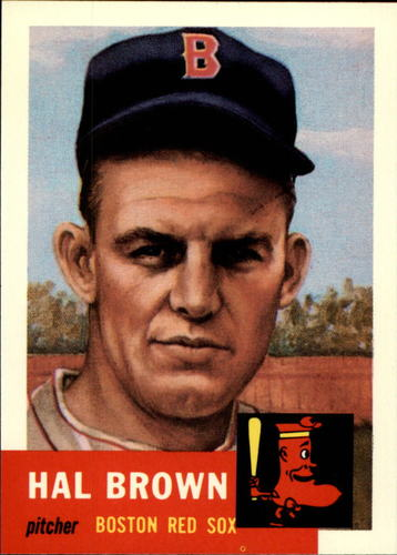 Photo of 1991 Topps Archives 1953 #184 Hal Brown