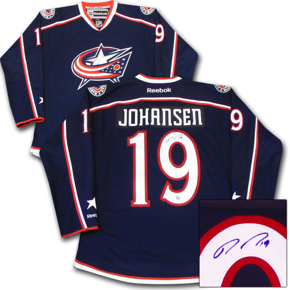 Ryan Johansen Autographed Columbus Blue Jackets Jersey - NHL Auctions 49e005340