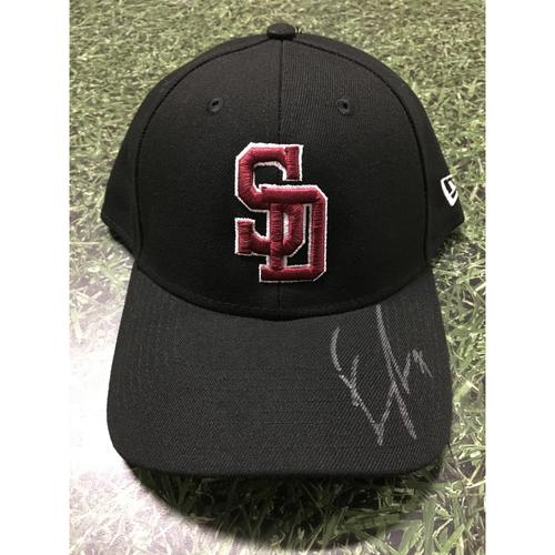 Photo of Eric Thames Autographed Stoneman Douglas Eagles Cap - Not MLB Authenticated