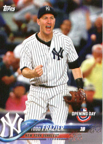 Photo of 2018 Topps Opening Day #74 Todd Frazier