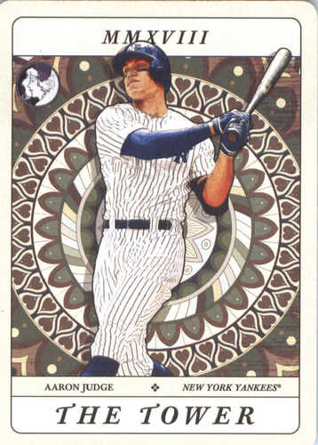 Photo of 2018 Topps Gypsy Queen Tarot of the Diamond #TOD14 Aaron Judge