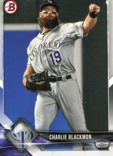 Photo of 2018 Bowman #53 Charlie Blackmon