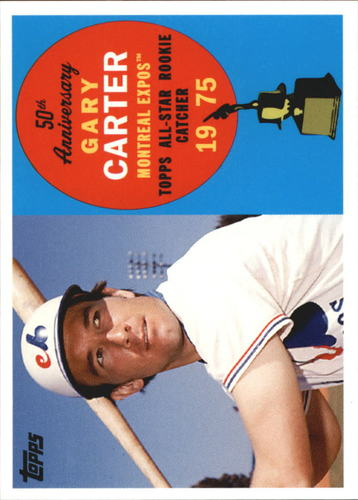 Photo of 2008 Topps 50th Anniversary All Rookie Team  Gary Carter Hall of Fame Class of 2003