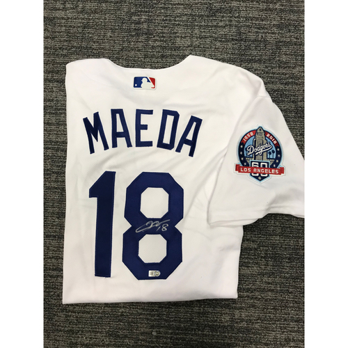 Photo of Los Angeles Dodgers Foundation Online Auction: Kenta Maeda Authentic Autographed Los Angeles Dodgers Jersey