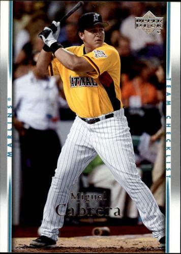 Photo of 2007 Upper Deck #490 Miguel Cabrera CL