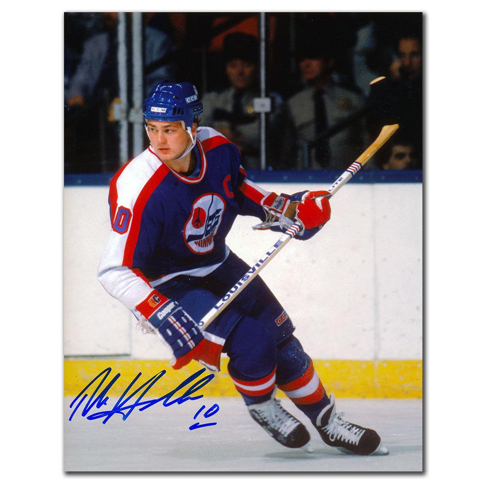 Dale Hawerchuk Winnipeg Jets RUSH Autographed 8x10