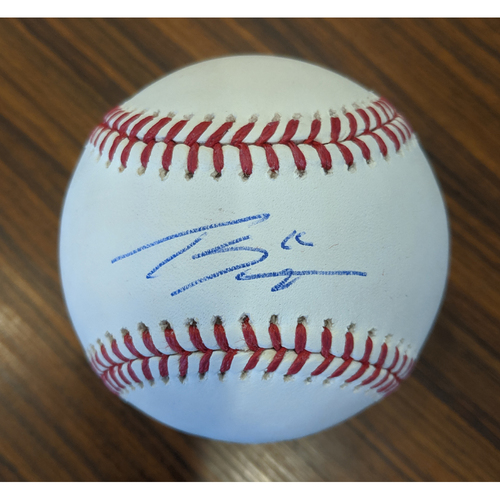 Photo of Tanner Scott - Autographed Baseball