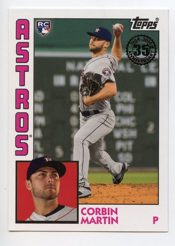 Photo of 2019 Topps Update '84 Topps #8426 Corbin Martin