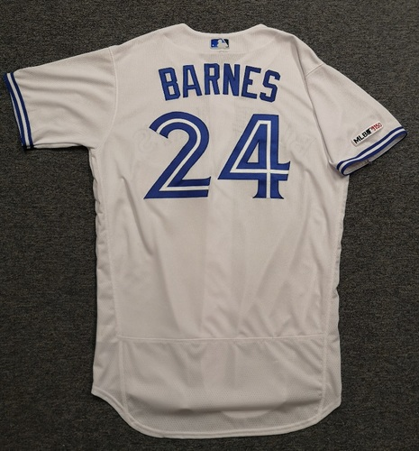 Photo of Authenticated Team Issued 2019 Jersey - #24 Danny Barnes. Size 46.