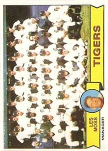 Photo of 1979 Topps #66 Detroit Tigers CL/Les Moss MG