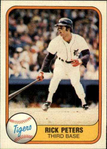 Photo of 1981 Fleer #470 Rick Peters RC