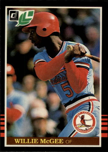 Photo of 1985 Leaf/Donruss #125 Willie McGee