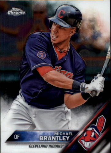 Photo of 2016 Topps Chrome #34 Michael Brantley