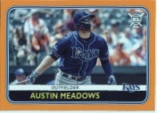 Photo of 2020 Topps Big League Orange #117 Austin Meadows