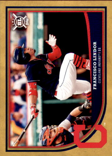 Photo of 2018 Topps Big League Gold #70 Francisco Lindor