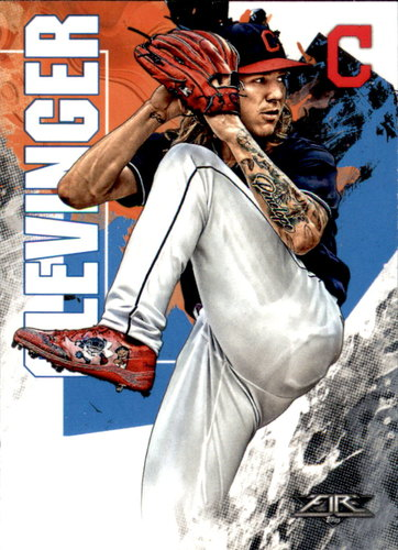 Photo of 2019 Topps Fire #159 Mike Clevinger