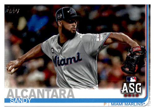 Photo of 2019 Topps Update #US104 Sandy Alcantara AS