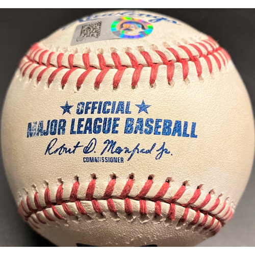 Game-Used Baseball: Javier Baez Chicago Cubs 2-Run Home Run (MLB AUTHENTICATED)
