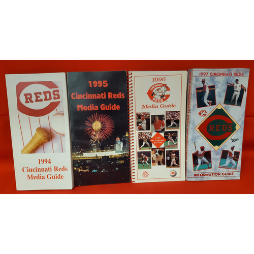 Photo of Cincinnati Reds Media Giuide Collection: 1994-1997