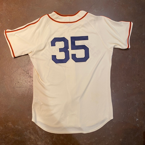 Photo of 2021 Game-Used or Team-Issued San Francisco Sea Lions Negro League Throwback Uniform - #35 Brandon Crawford - Size 48