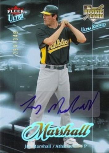 Photo of 2007 Ultra Rookie Autographs #221b Jay Marshall/349