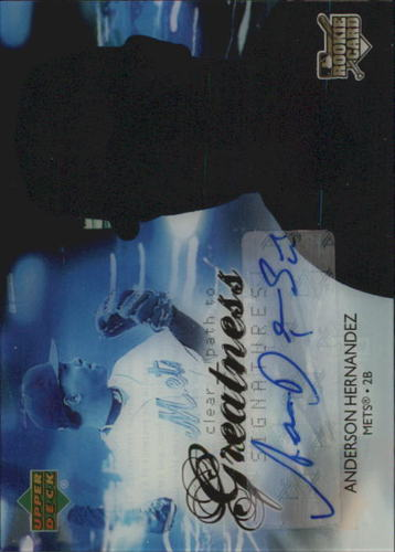 Photo of 2006 Upper Deck Future Stars #77 Anderson Hernandez AU (RC)
