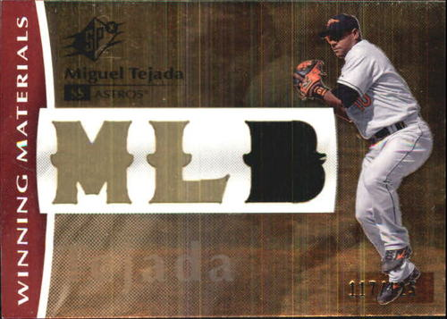 Photo of 2008 SPx Winning Materials MLB 125 #TE Miguel Tejada