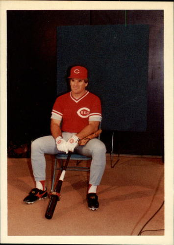 Photo of 1985 Topps Rose #37 Pete Rose/Toughest position