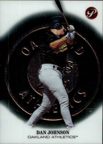 Photo of 2002 Topps Pristine #181 Dan Johnson C RC