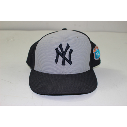 fef51480649 Didi Gregorius New York Yankees 2016 Spring Training Game-Issued  18 Hat  (Road