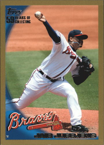 Photo of 2010 Topps Gold Border #272 Jair Jurrjens