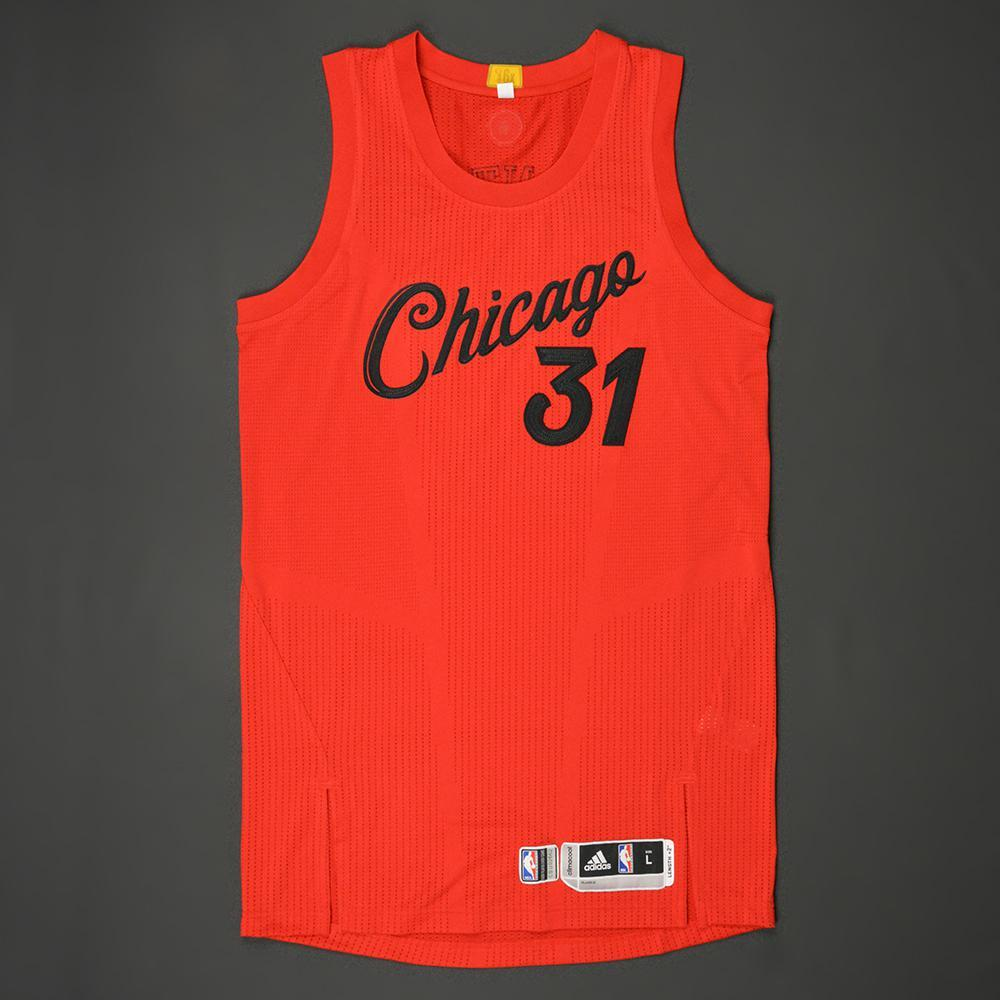 purchase cheap 7a67e ad67c RJ Hunter - Chicago Bulls - NBA Christmas Day '16 - Game ...