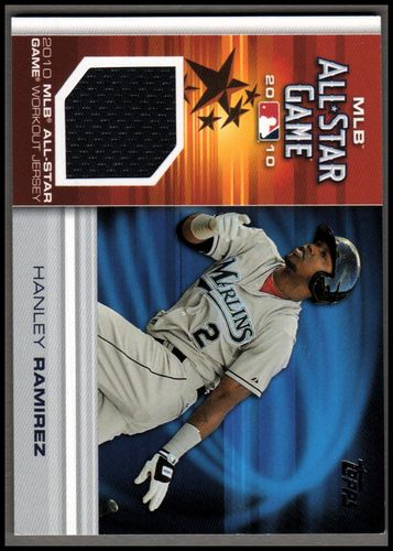 Photo of 2010 Topps Update All-Star Stitches #HR Hanley Ramirez JERSEY