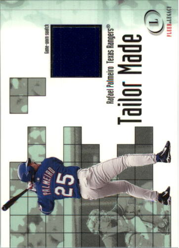 Photo of 2001 Fleer Legacy Tailor Made #16 Rafael Palmeiro