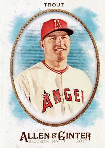Photo of 2017 Topps Allen and Ginter #10 Mike Trout