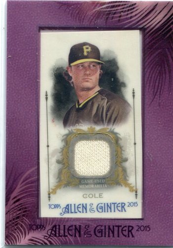 Photo of 2015 Topps Allen and Ginter Framed Mini Relics  Gerrit Cole